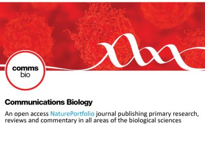 Our new paper published in Communications Biology (Nature Portfolio)!